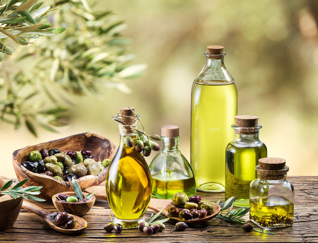 Precious oils like Rapeseed or olive oil, nuts, and seeds, walnuts, almonds