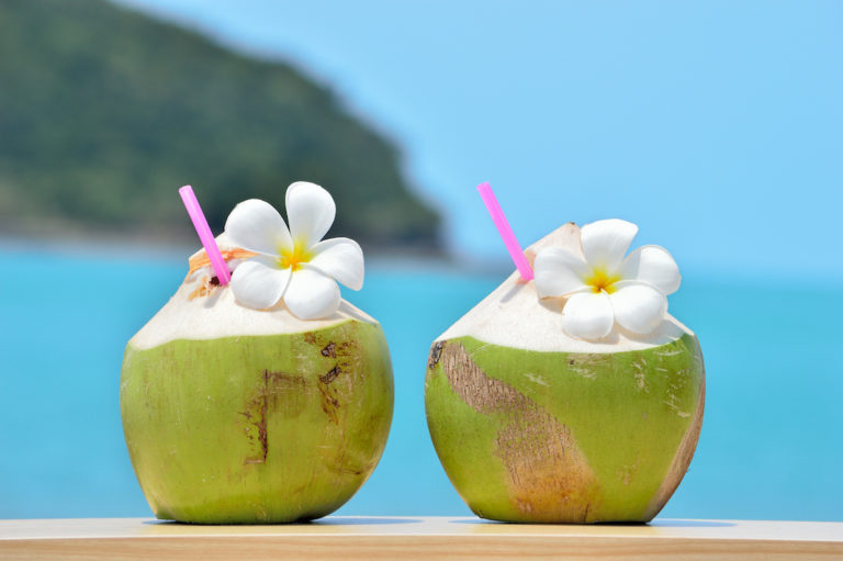 Coconut water – the perfect thirst quencher from the tropics