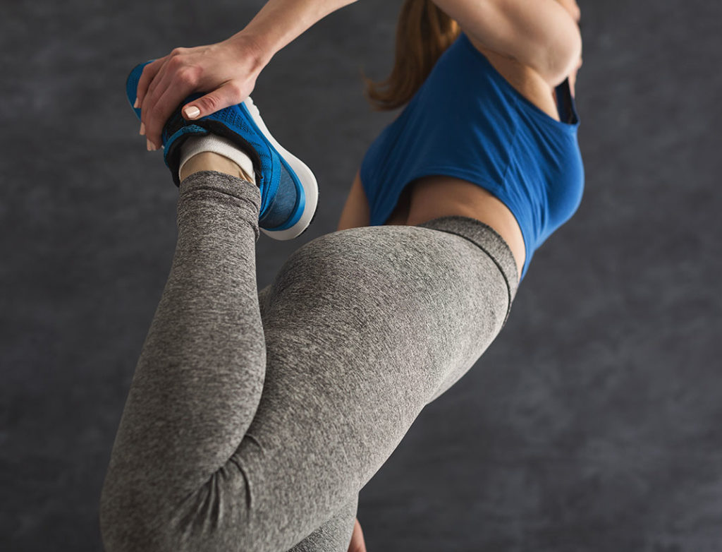 front high muscle- Quad stretch