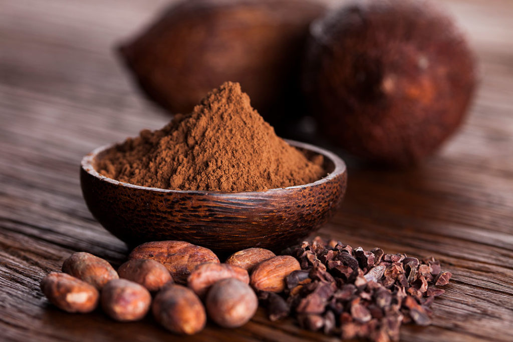 Cocoa Powder face masks for dry skin