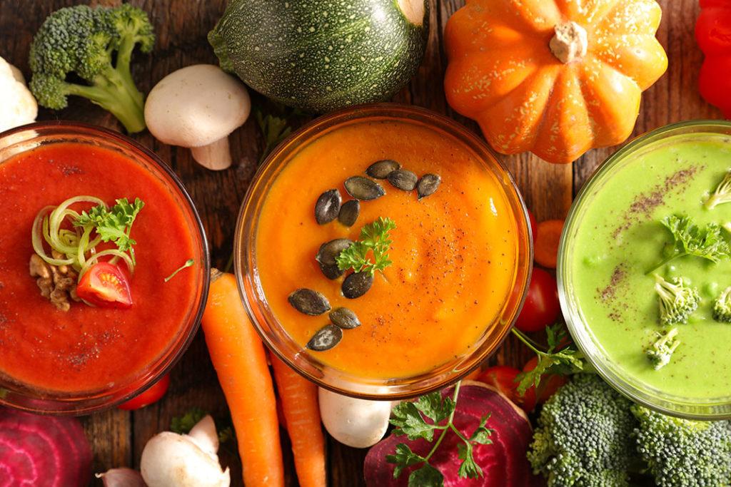 Tasty vegetable soup