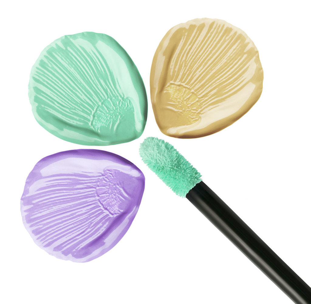 Color Correcting cream an tool