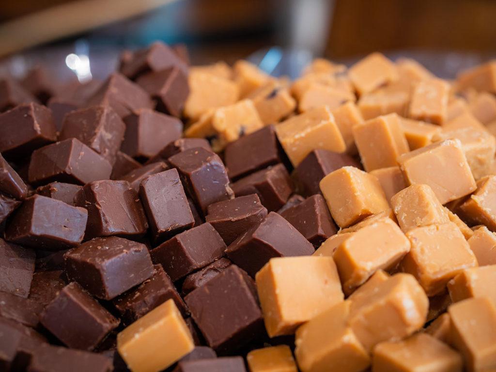 Homemade caramel sweets